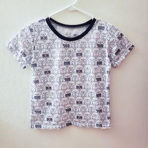 Sanrio Rilakkuma Cropped T-Shirt